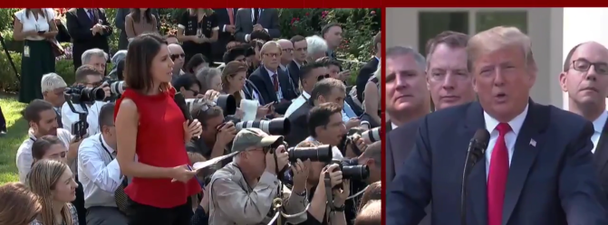 "WATCH: Trump insults reporter: ""I know you're not thinking. You never do"""