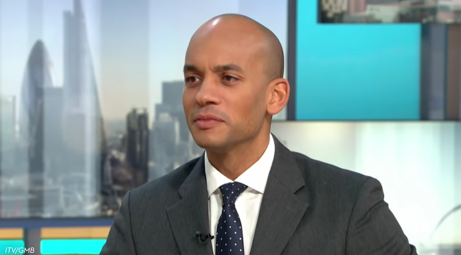 "Chuka Umunna appeals for voters to abandon ""deeply divided"" parties and join The Independent Group"