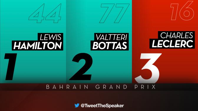 F1: Heartbreak for Charles Leclerc as engine troubles allow Lewis Hamilton to claim the Bahrain Grand Prix