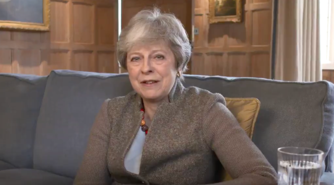 "WATCH: PM Theresa May talks of ""compromise on both sides"" in bipartisan Brexit talks"